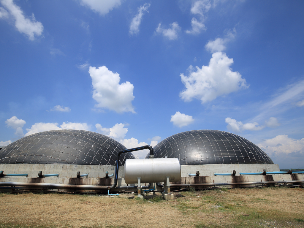 bio gas plant Biogas plants capture biogas released during decomposition of organic materials and convert it into useable energy a biogas plant is an anaerobic digester that produces biogas from animal wastes or energy crops energy crops are cheap crops grown for the purpose of biofuels.